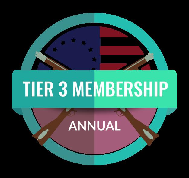 Annual - Tier 3 Membership