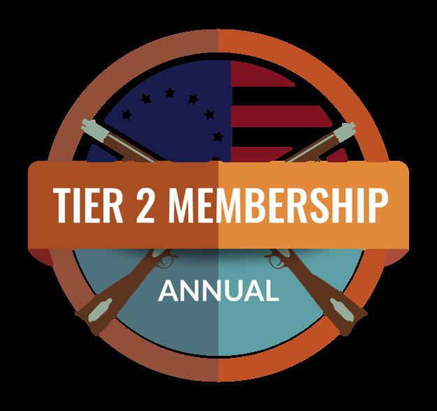 Annual - Tier 2 Membership