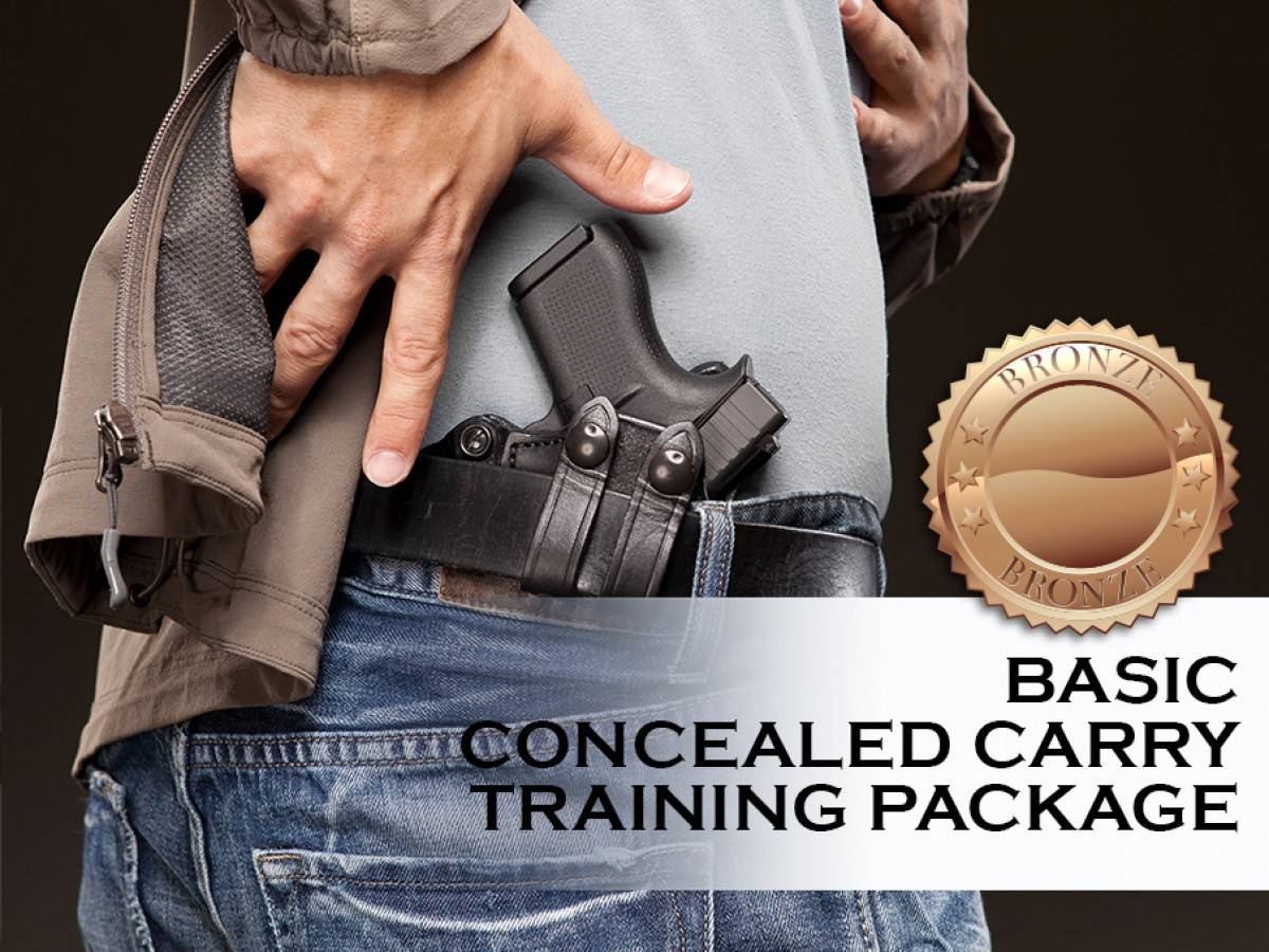 Basic Concealed Carry Training Package