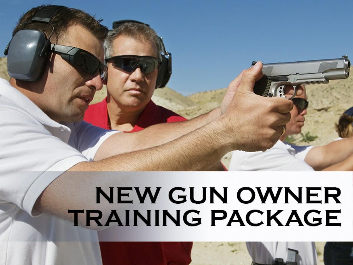 New Gun Owner Seminar Training Package