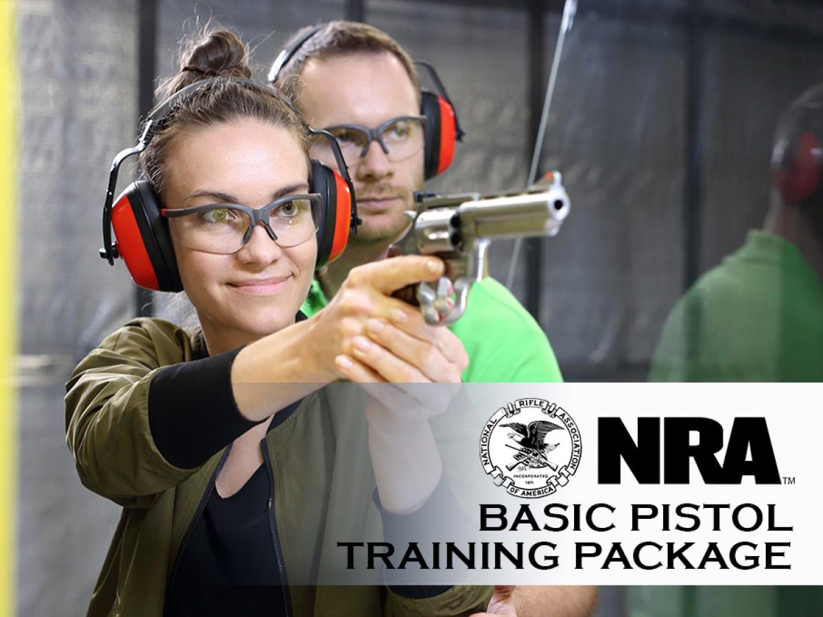 NRA Basic Pistol Training Package
