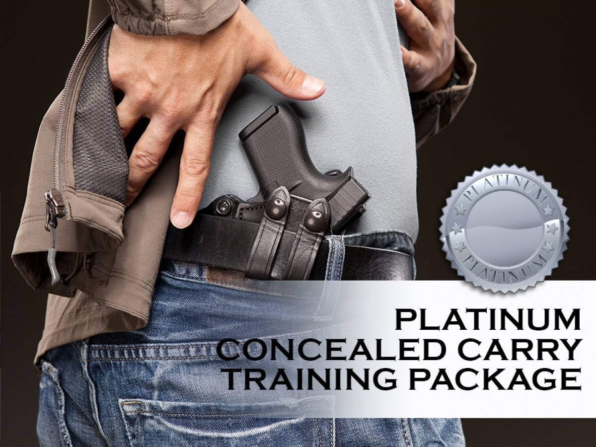 Platinum Concealed Carry Training Package